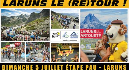 Tour de France à Laruns